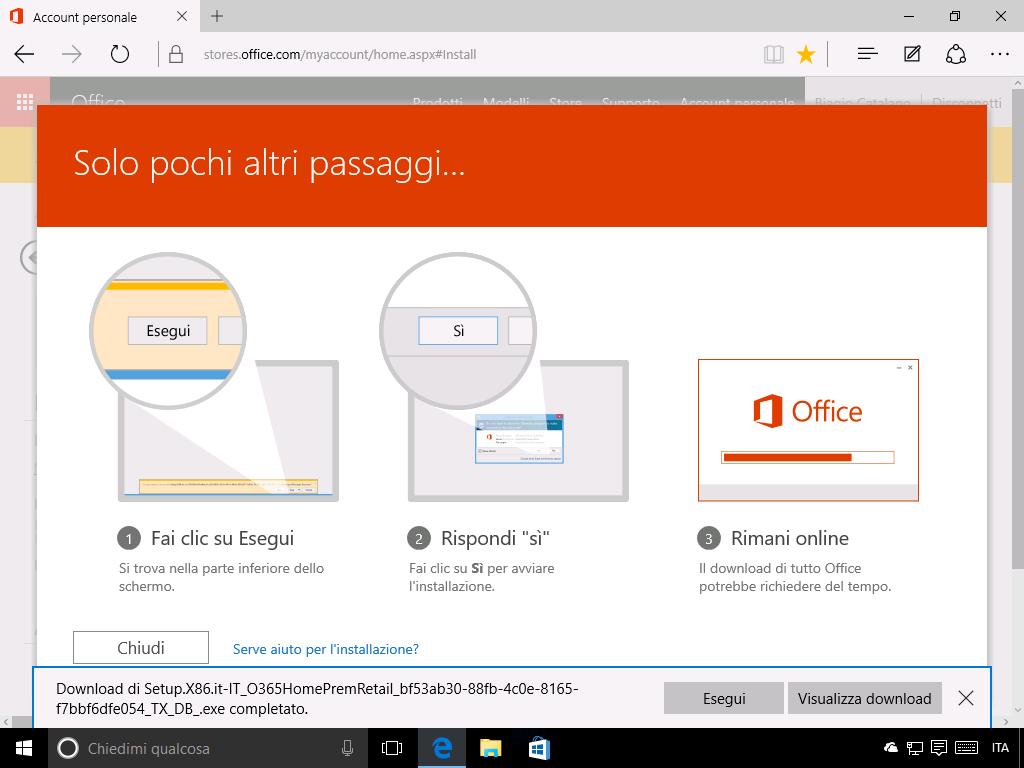 Come installare Office 365 - 3
