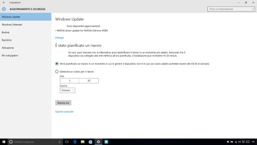 Espansione testo Windows 10 10547
