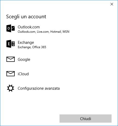 Importare i contatti nell'app Contatti di Windows 10 - 2