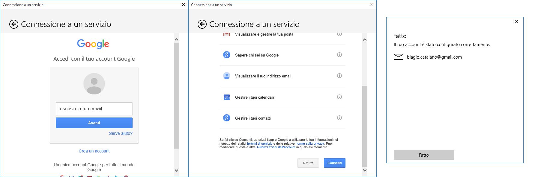 Importare i contatti nell'app Contatti di Windows 10 - 4