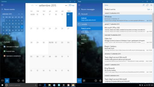 Nuove app sistema Windows 10 10547