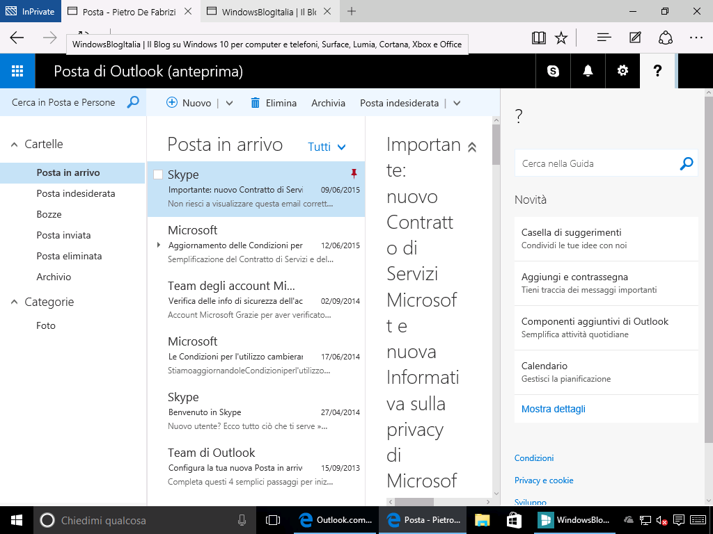 Outlook.com guida