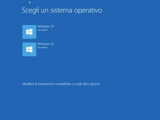 Scegli un sistema Windows 10547