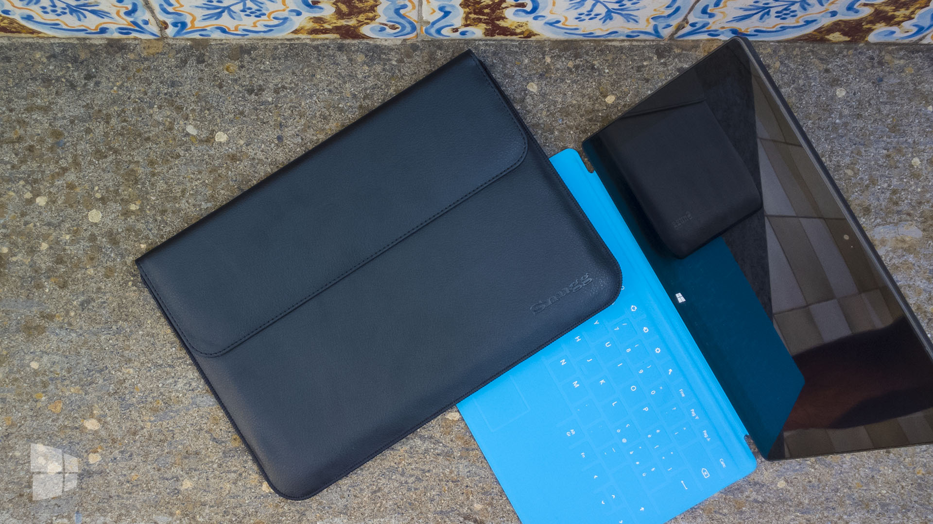 Snugg Leather Wallet Pouch Microsoft Surface 3 (4)