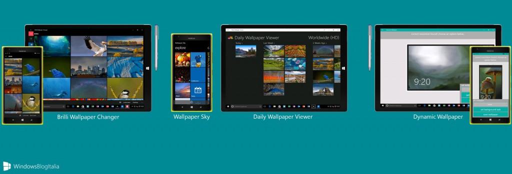 Le migliori app per personalizzare gli sfondi su windows for Migliori planimetrie della cabina di log