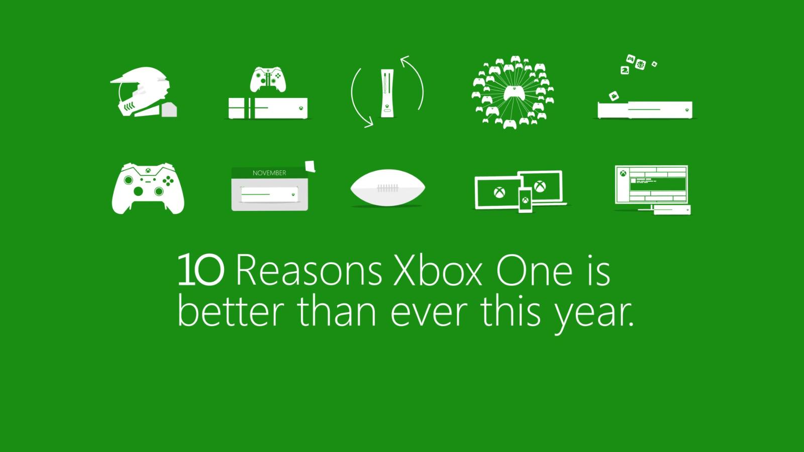 10 motivi per acquistare Xbox One