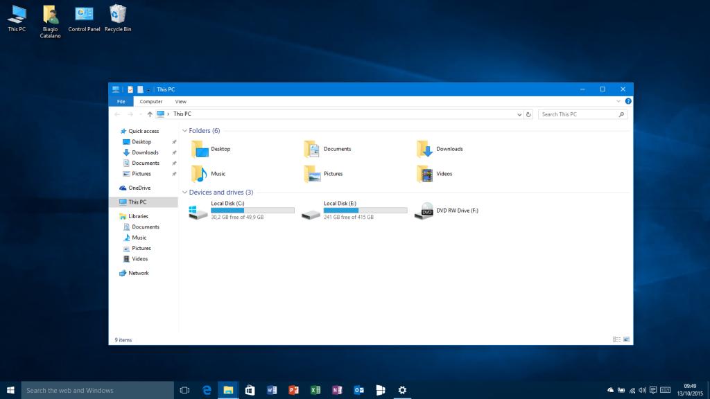 Colori delle finestre - Windows 10-10565