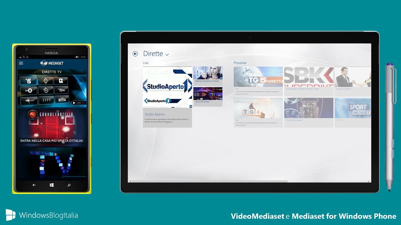 Mediaset e VideoMediaset