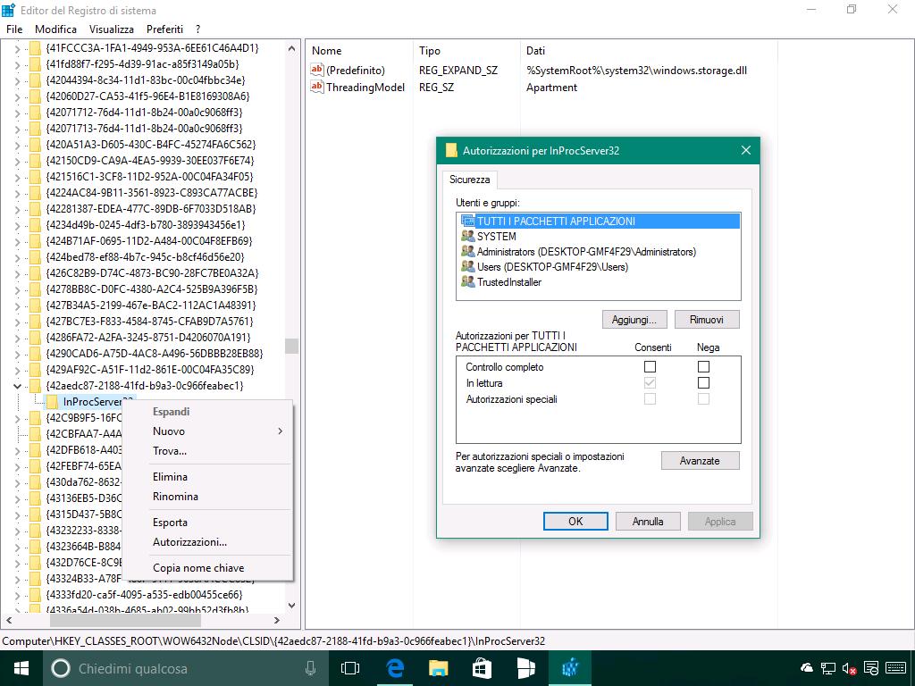 Problema del riposizionamento delle icone in Windows 10 - 2