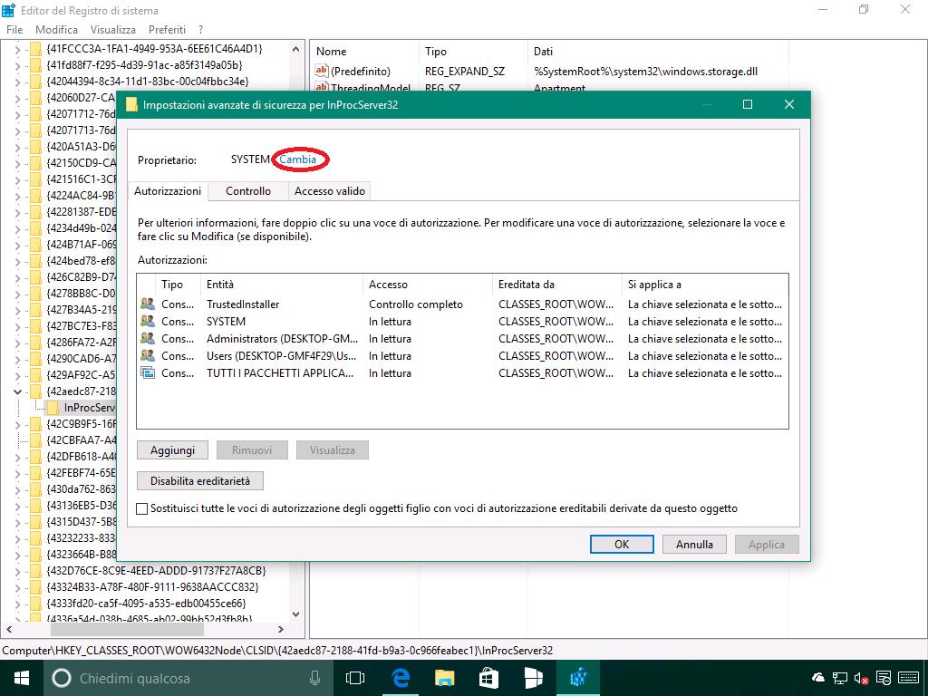 Problema del riposizionamento delle icone in Windows 10 - 3