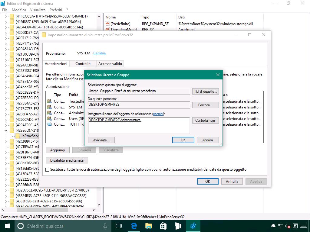 Problema del riposizionamento delle icone in Windows 10 - 4