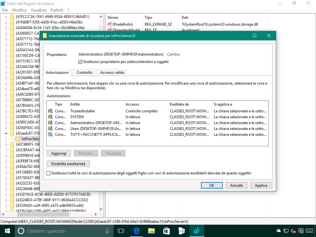 Problema del riposizionamento delle icone in Windows 10 - 5