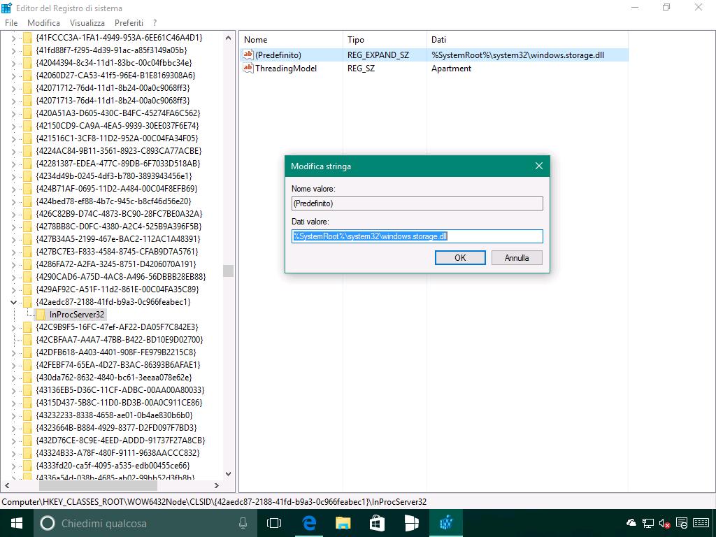 Problema del riposizionamento delle icone in Windows 10 - 6