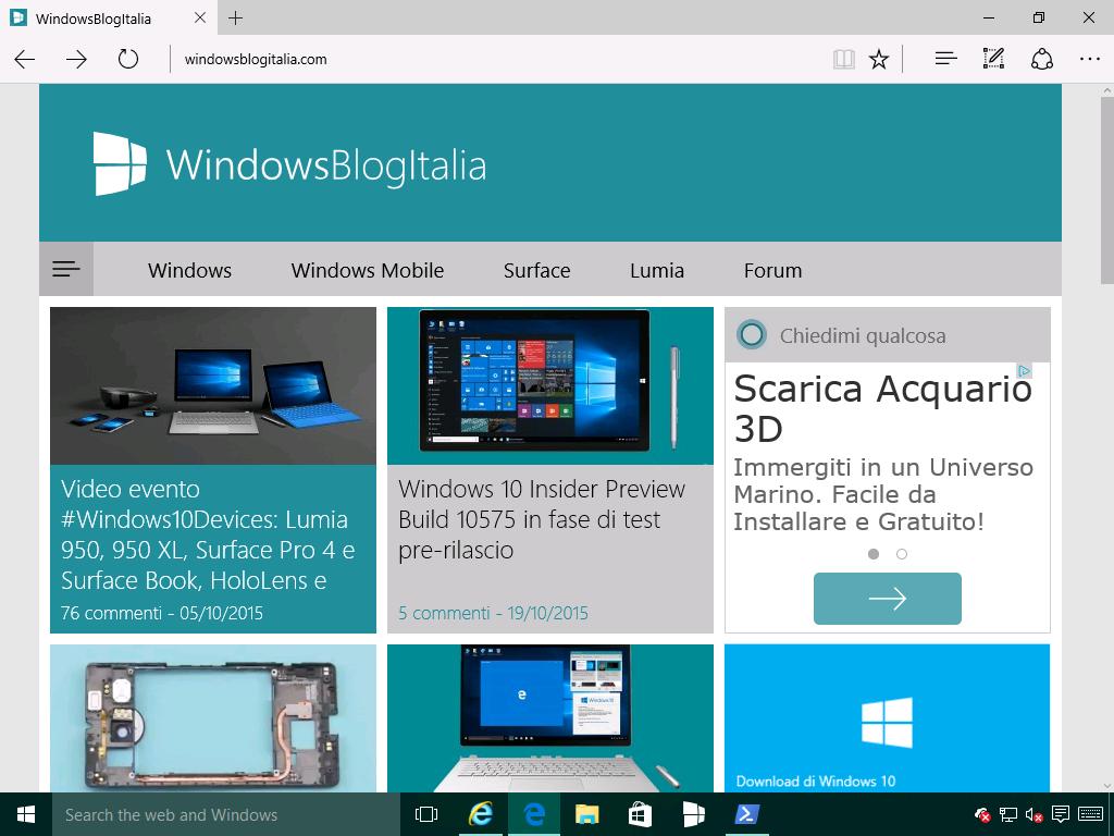 RipristinareMicrosoftEdge4 - Windows 10