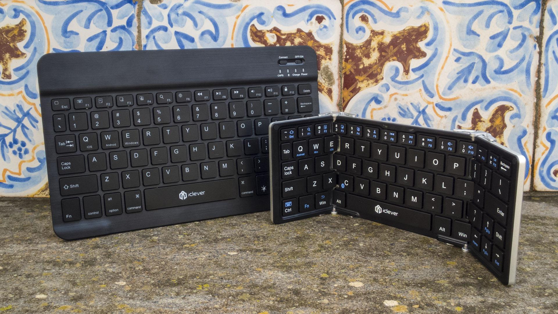 Tastiera Bluetooth iClever per Windows, iOS, Android (2)