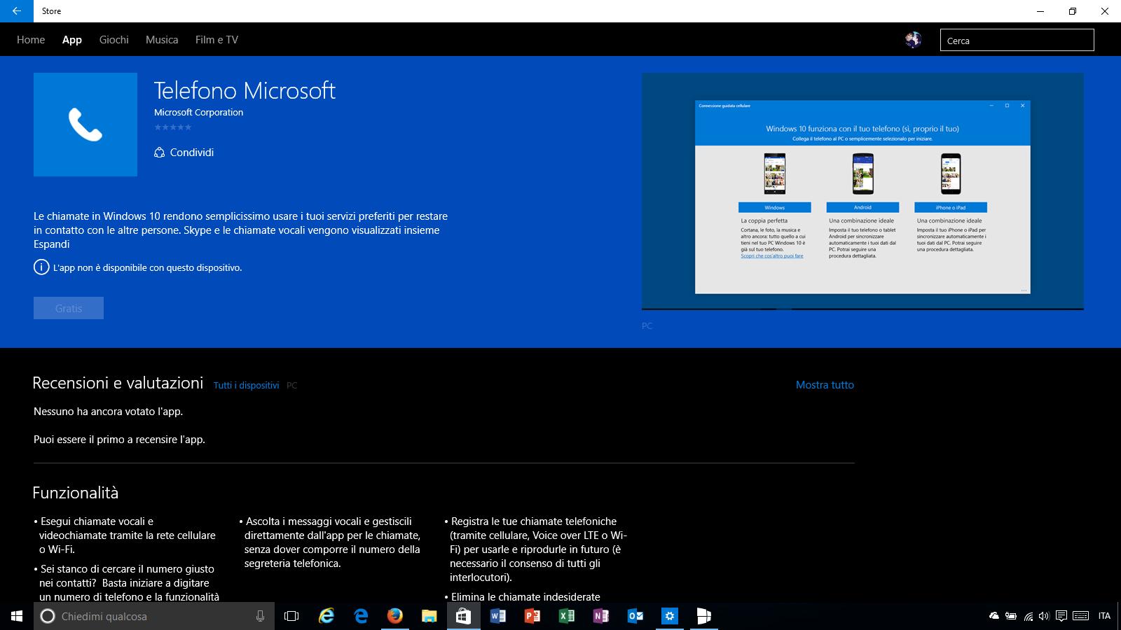 Telefono Microsoft