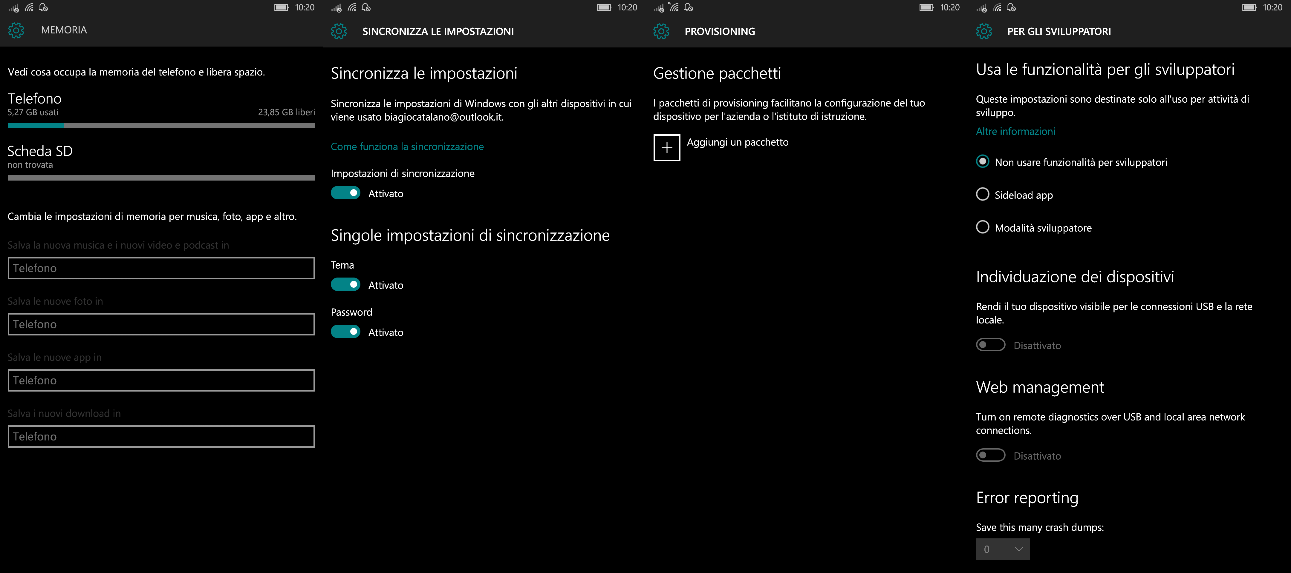 emulatore android per windows 10 mobile