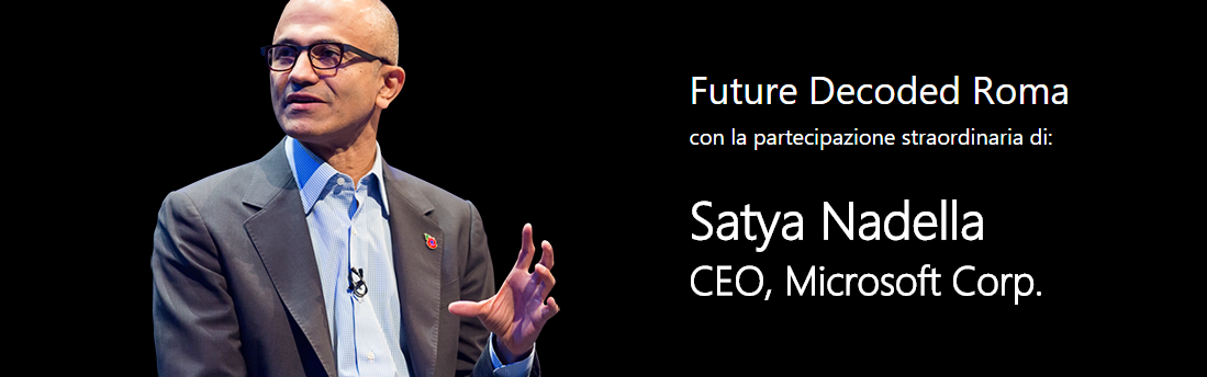 future-decoded-roma-satya-nadella