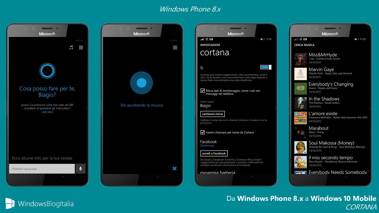 Cortana - Windows Phone