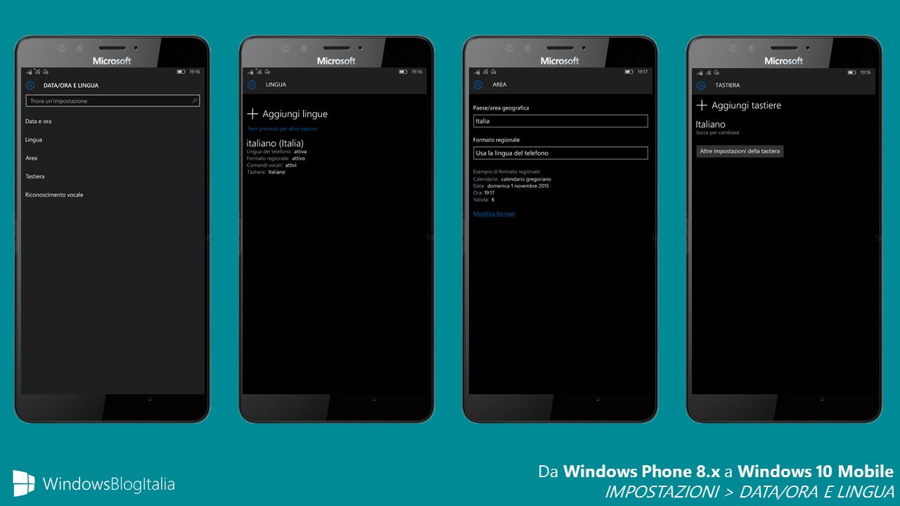 Trasferire Calendario Da Windows Phone A Android.Differenze Tra Windows Phone 8 1 E Windows 10 Mobile