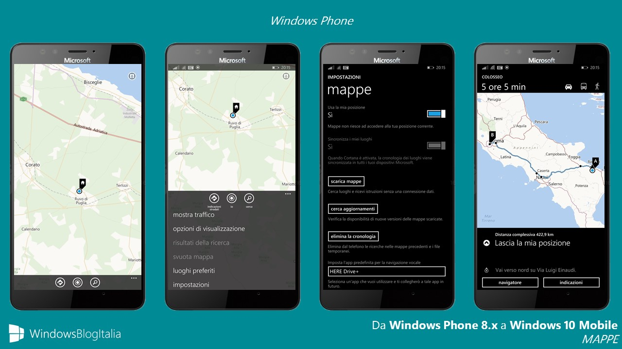 Mappe - Windows Phone