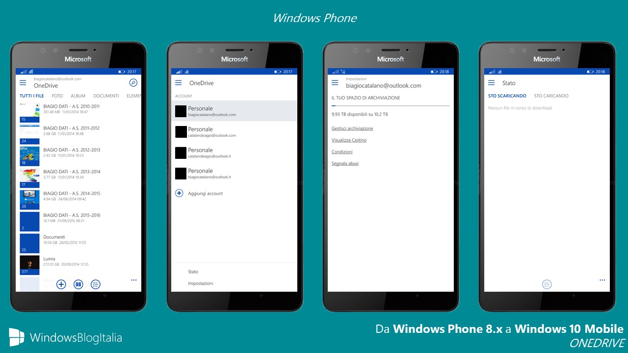 ONEDRIVE - Windows Phone RTM
