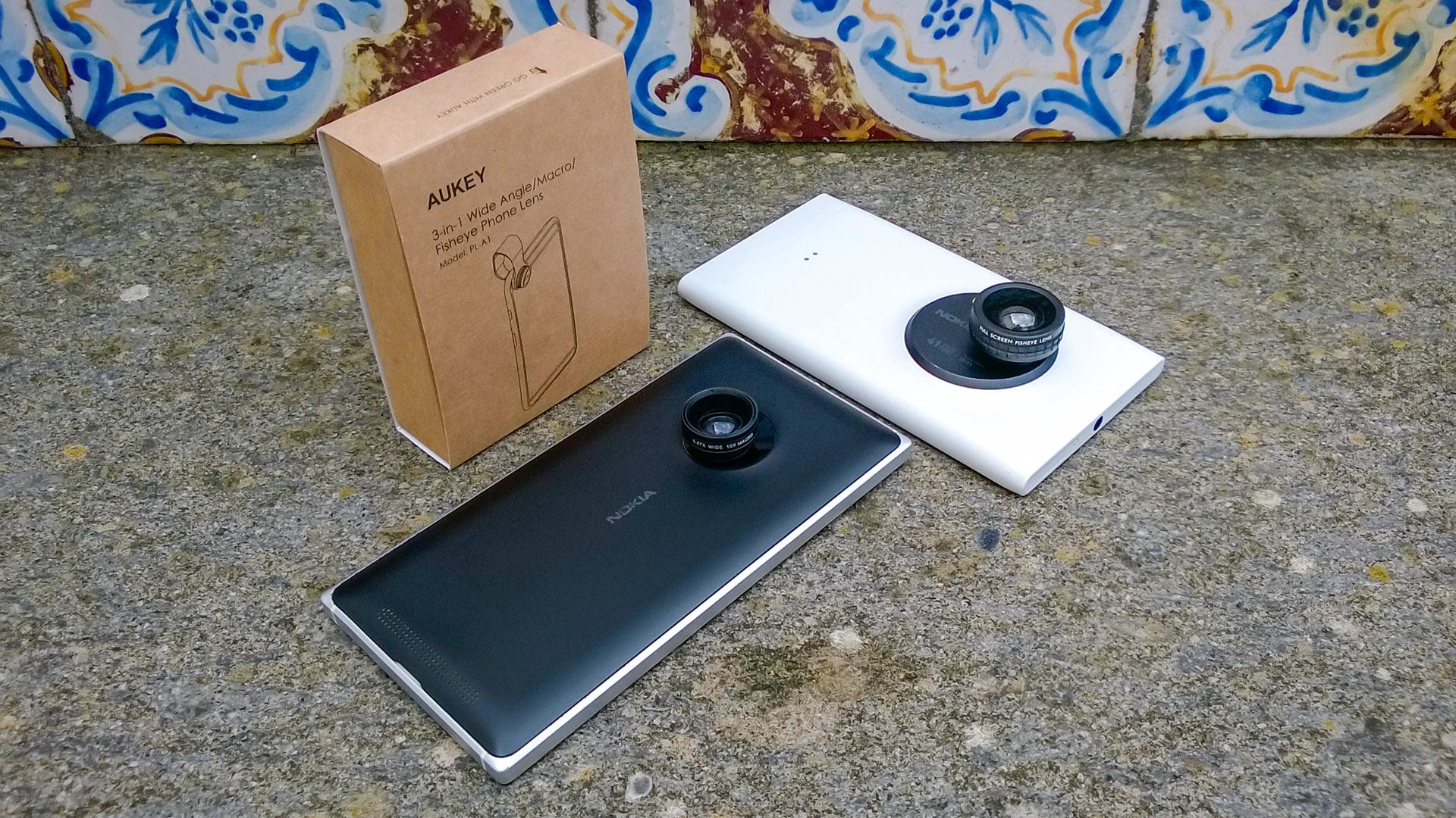 Recensione lenti Fish-Eye Macro Aukey smartphone Lumia (1)