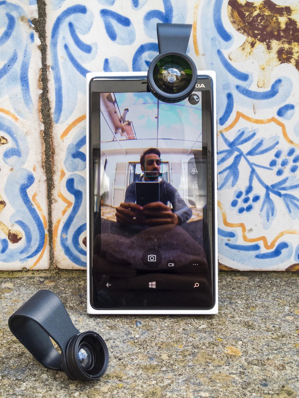 Recensione lenti Fish-Eye Macro Aukey smartphone Lumia (3)