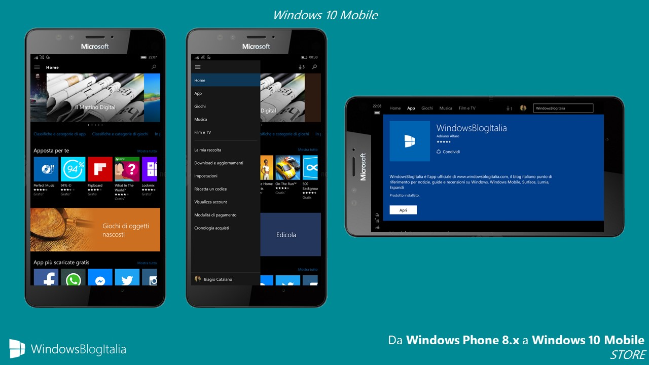 STORE - Windows 10 Mobile AGG.