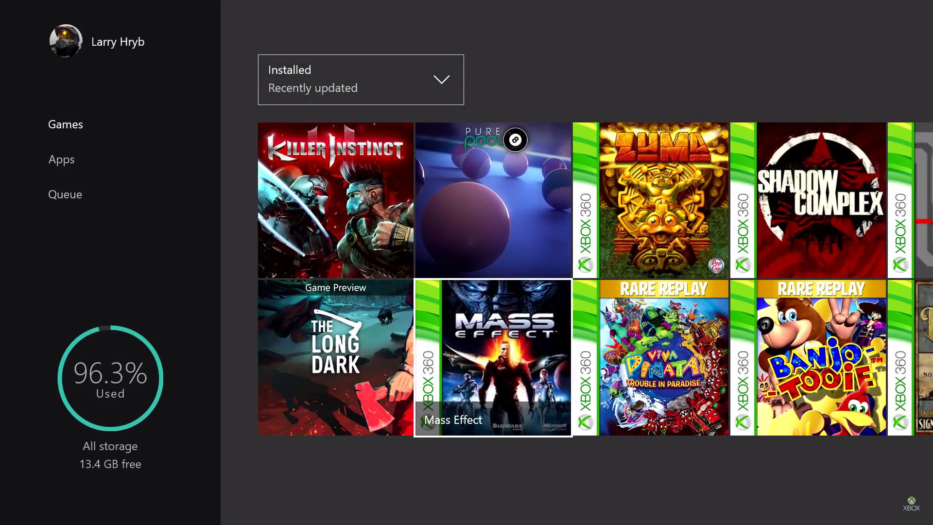 Primi 100 giochi di Xbox 360 per Xbox One