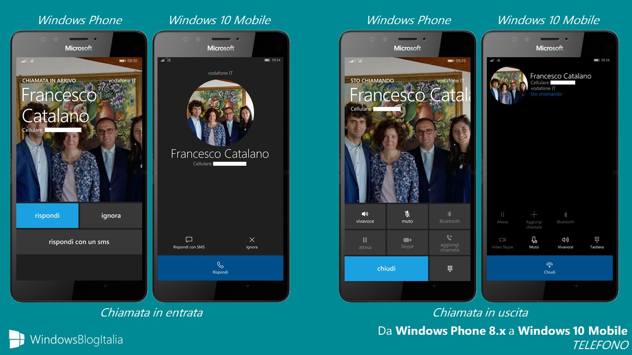 TELEFONO - Windows 10 Mobile vs Windows Phone