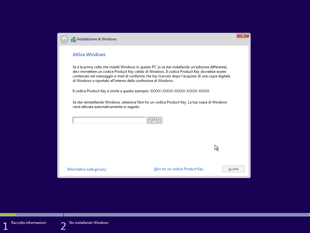 seriale windows 10