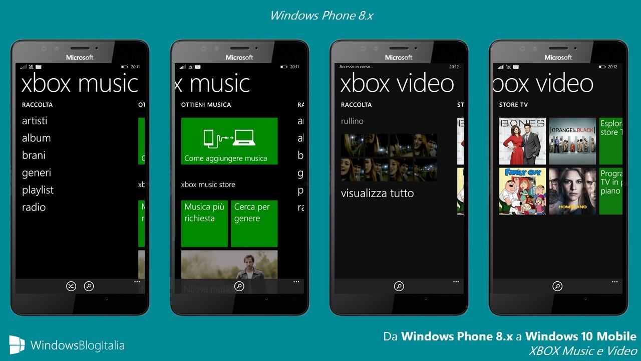 Xbox Music e Video