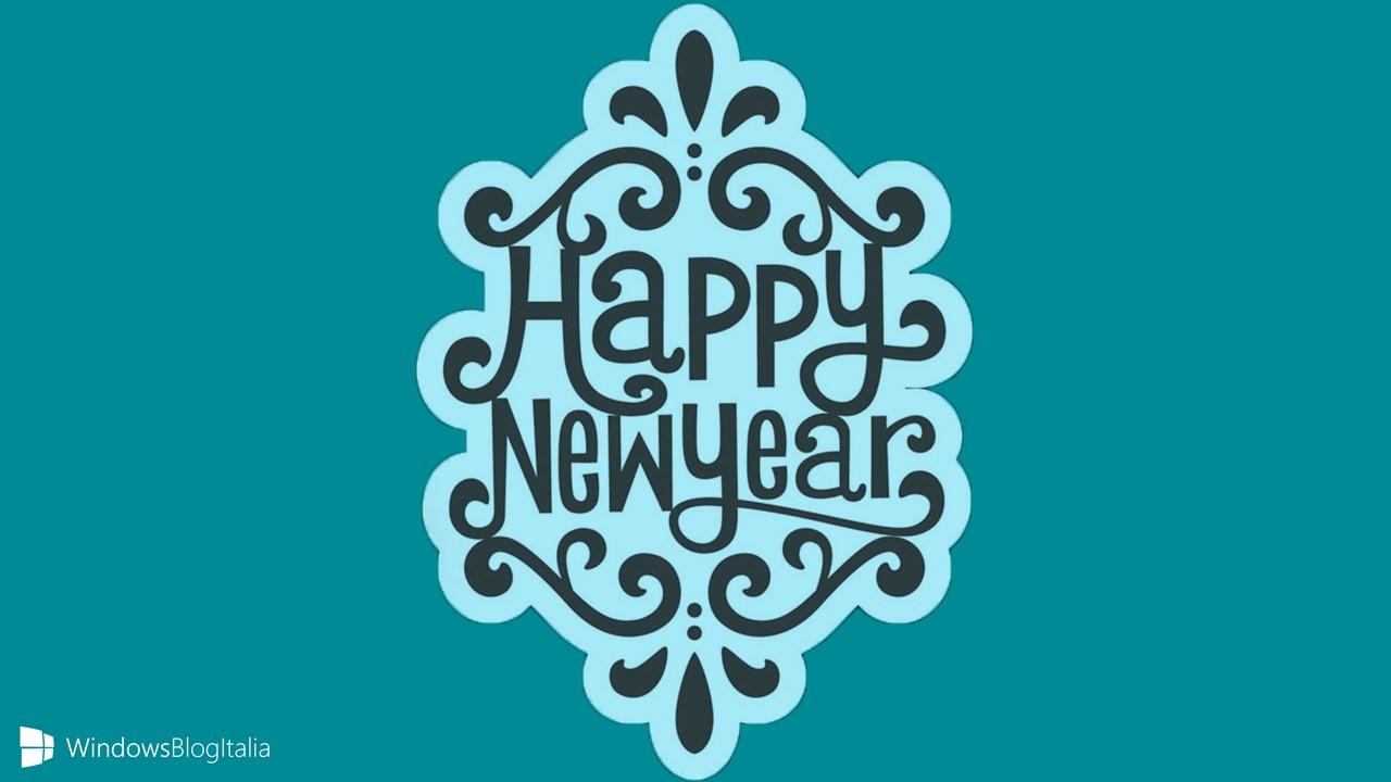 Buon anno - WindowsBlogItalia