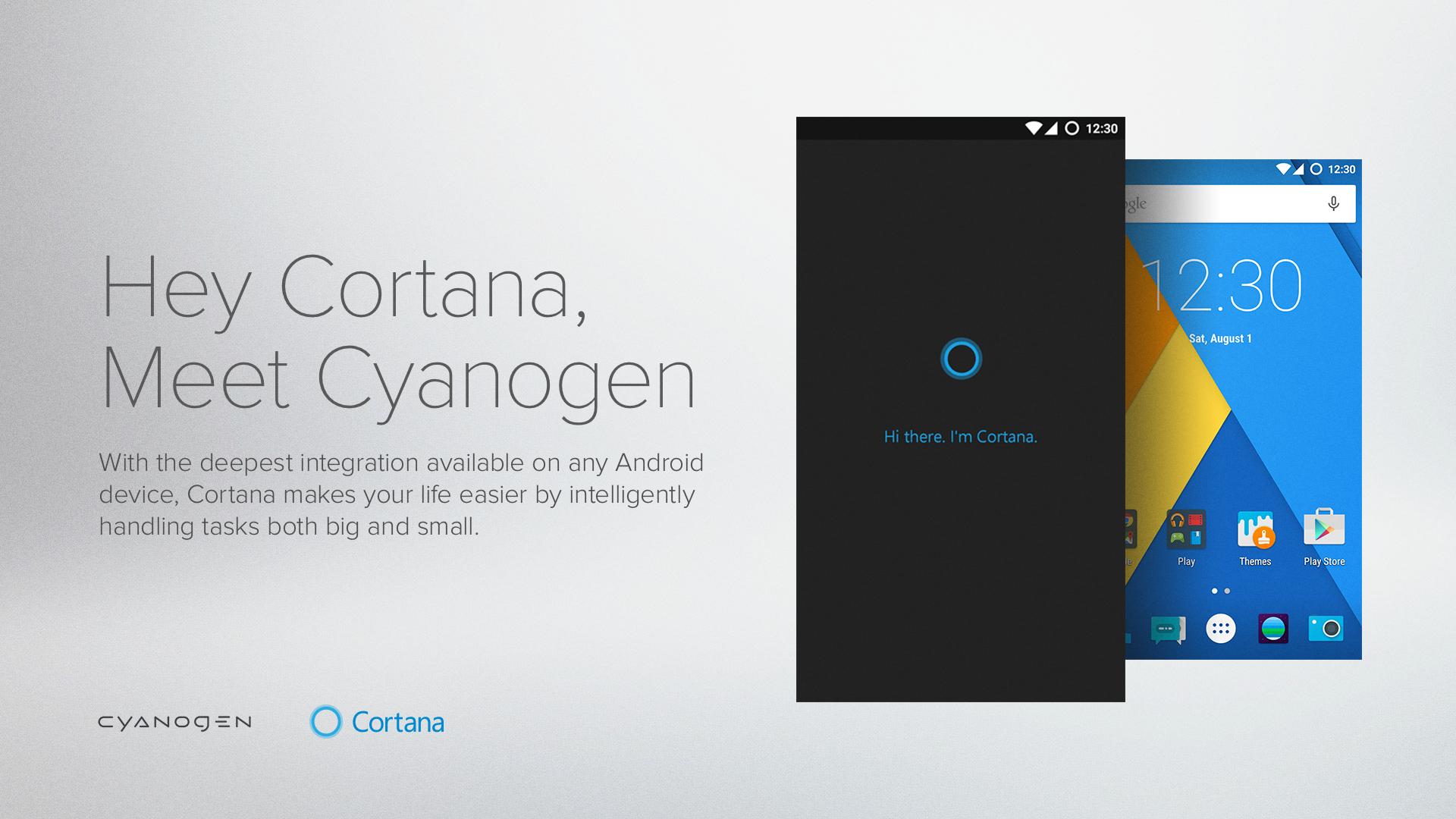 Cortana-cyanogen