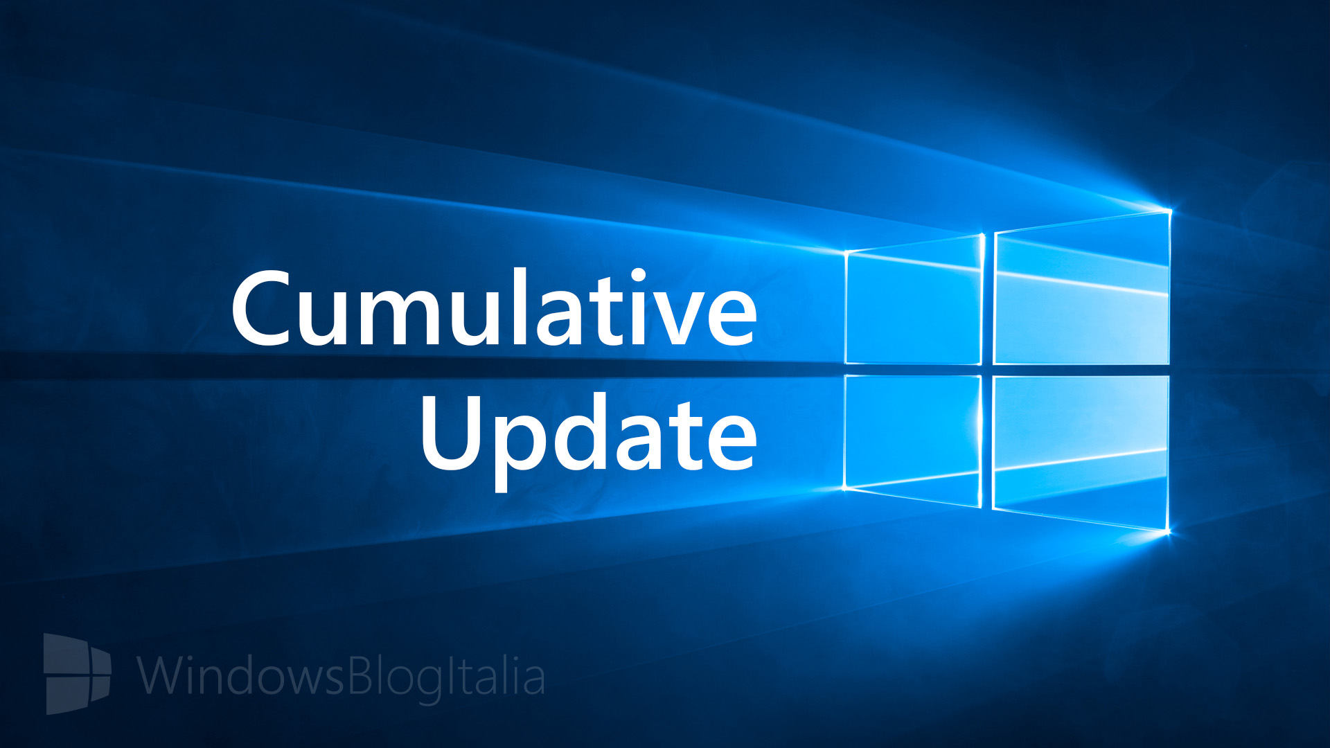 Aggiornamento cumulativo - Windows 10 - PC e tablet