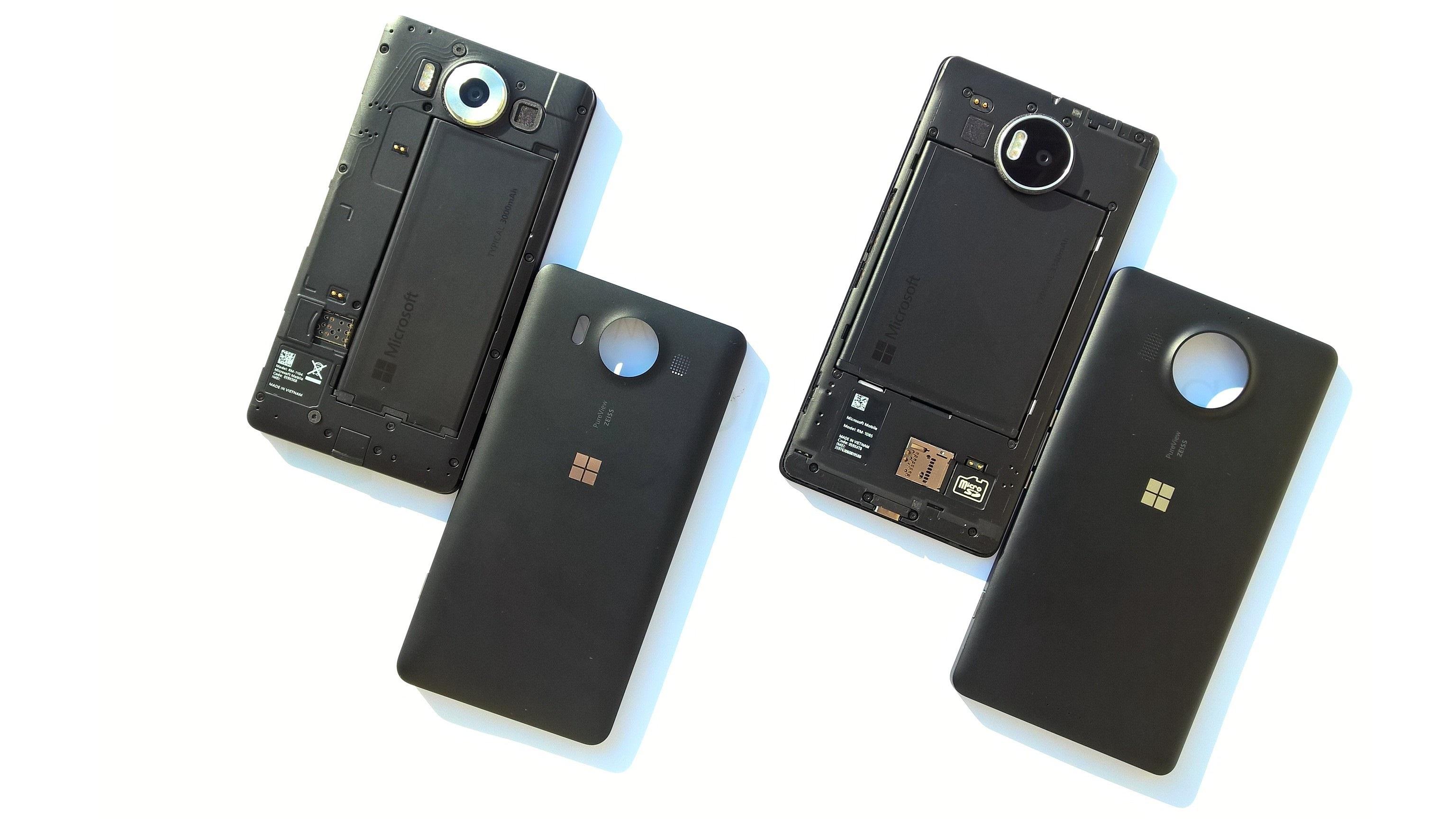 Lumia 950, 950XL - Batteria