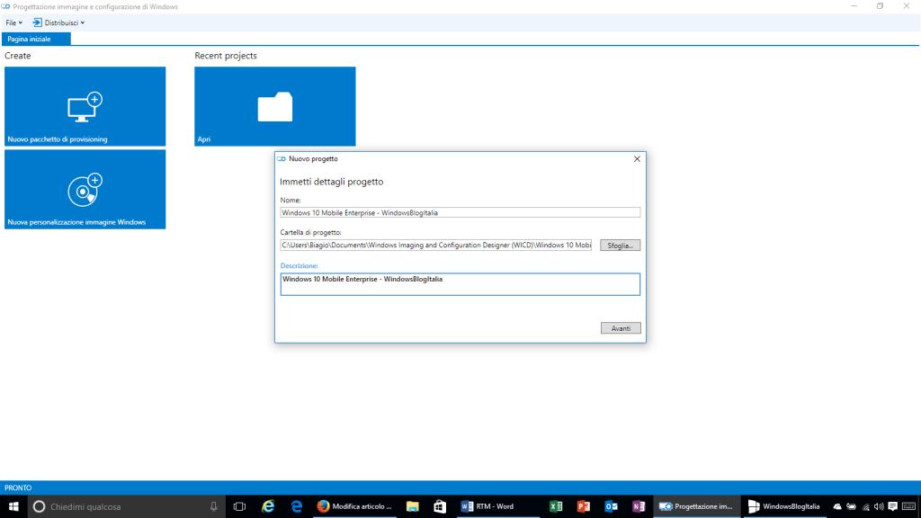 Progettazione immagine e configurazione di Windows - 2