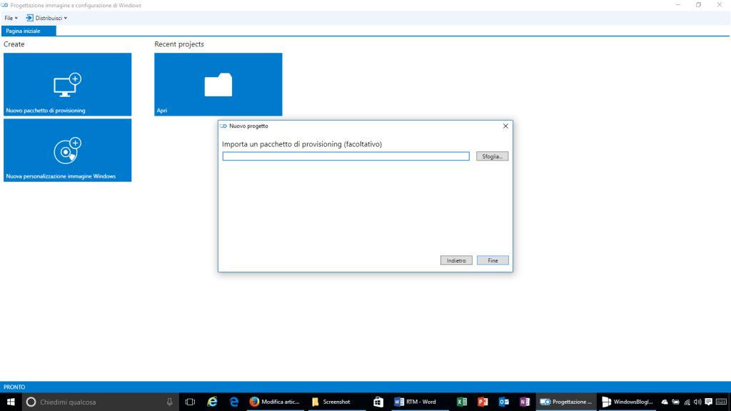 Progettazione immagine e configurazione di Windows - 4