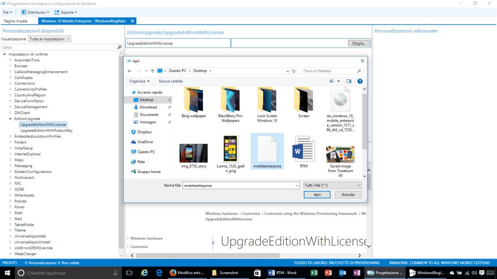 Progettazione immagine e configurazione di Windows - 6