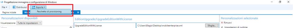 Progettazione immagine e configurazione di Windows - 8