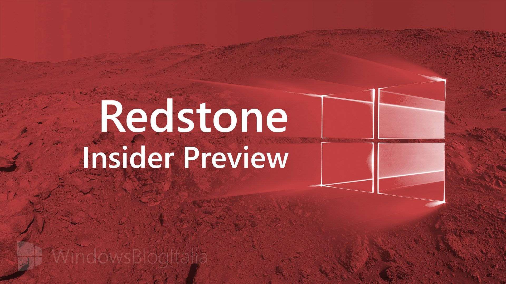 Redstone Insider Preview build 14267