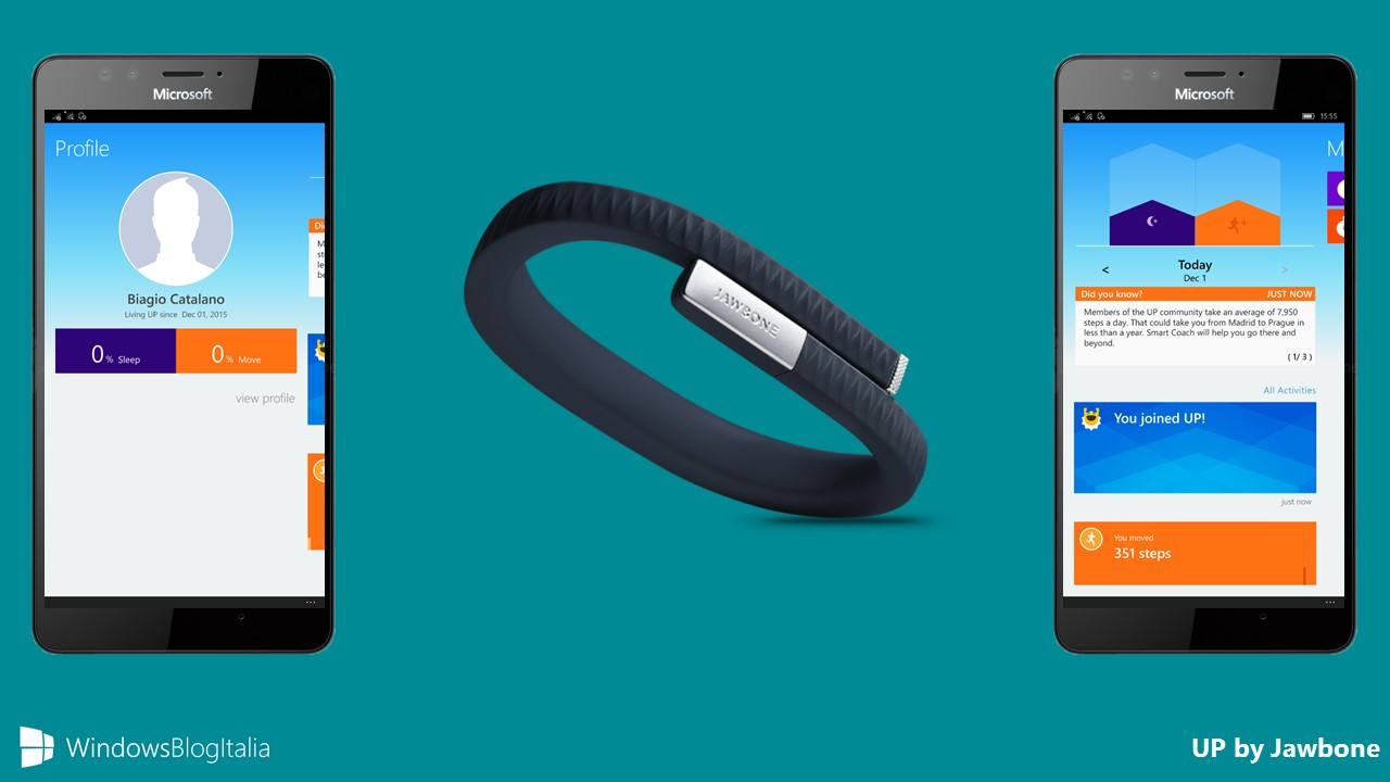 UP by Jawbone Windows 10 Mobile