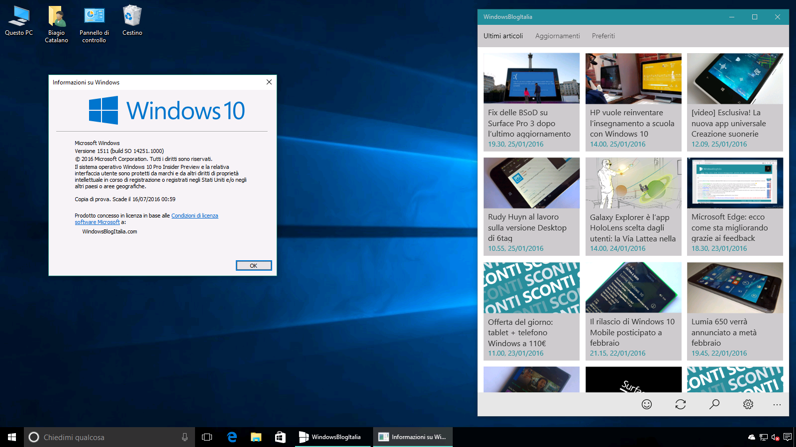 Build 14251 Windows 10