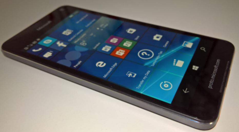 Lumia 650 trapelato