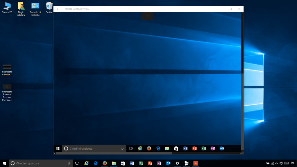 Microsoft Remote Desktop Preview 5