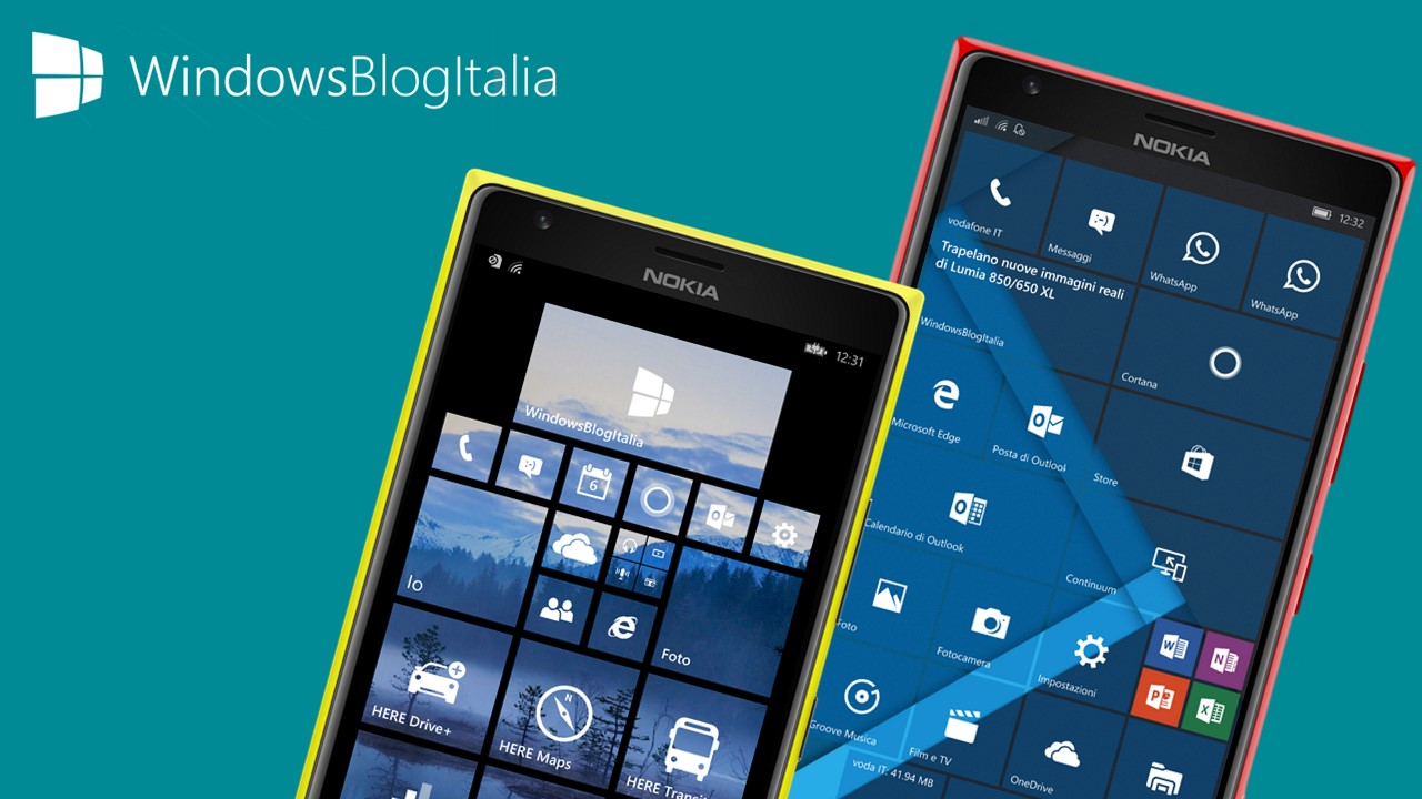 Consigli Windows Phone 8.1 Windows 10 Mobile