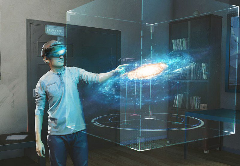 Galaxy Explorer - HoloLens