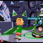 Day of the tentacle Remastered - Grafica remastered con verbi a ruota