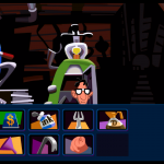 Day of the tentacle Remastered - Grafica remastered inventario a scomparsa